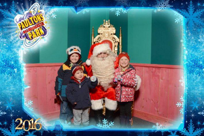 Father Christmas Paultons Park