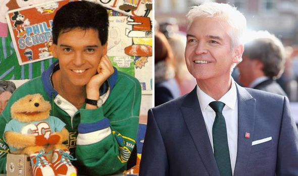Phillip-Schofield-Gordon-the-Gopher-