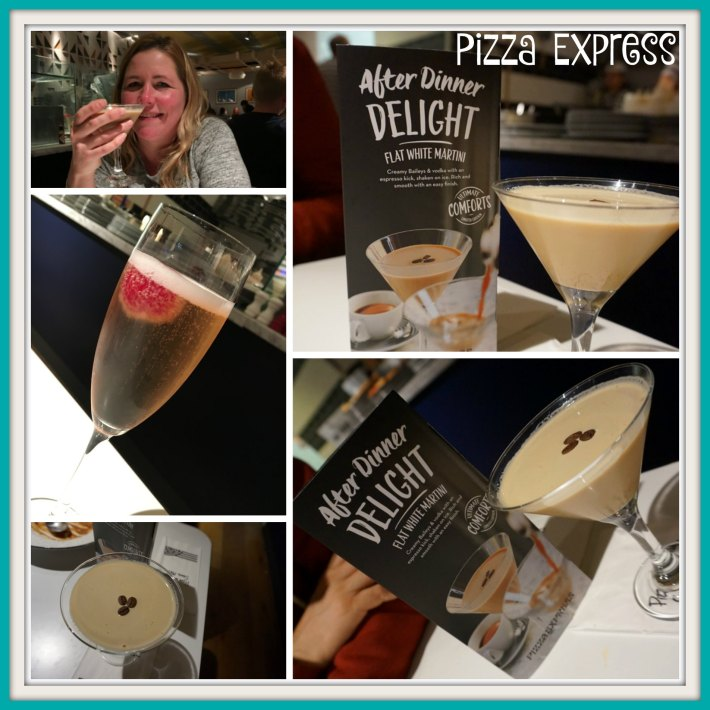 Pizza Express Cocktails