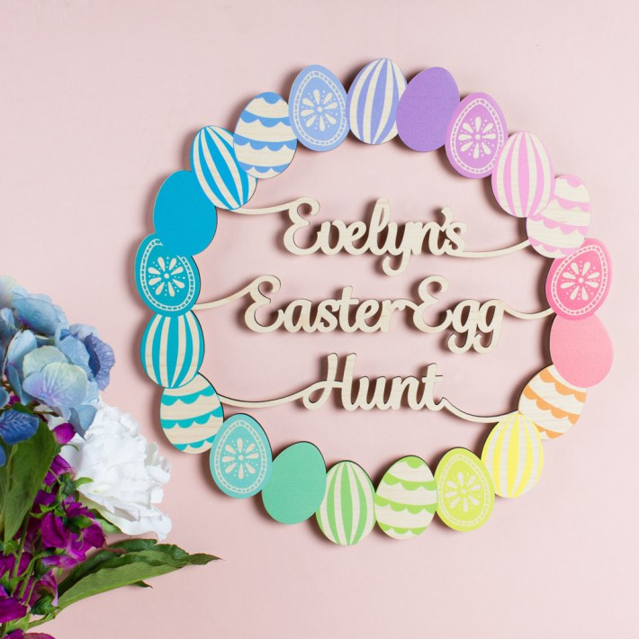 Personalised-Easter-Wreath-Sign-
