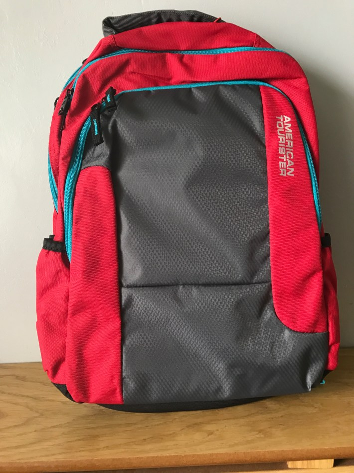 urban groove american tourister ruck sack review