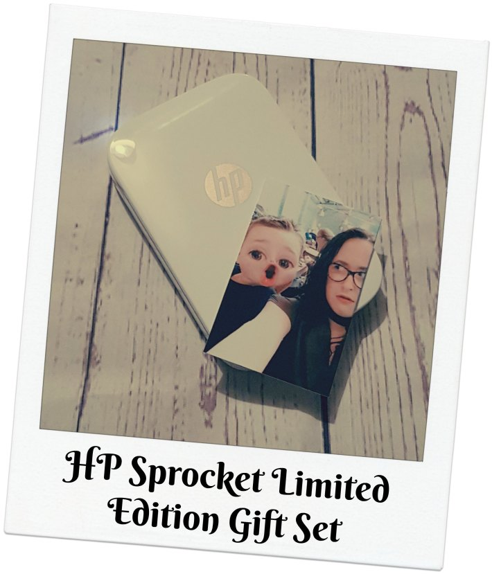 HP Sprocket Limited Edition Gift Set
