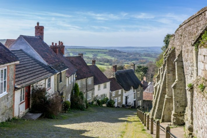 Gold Hill Dorset