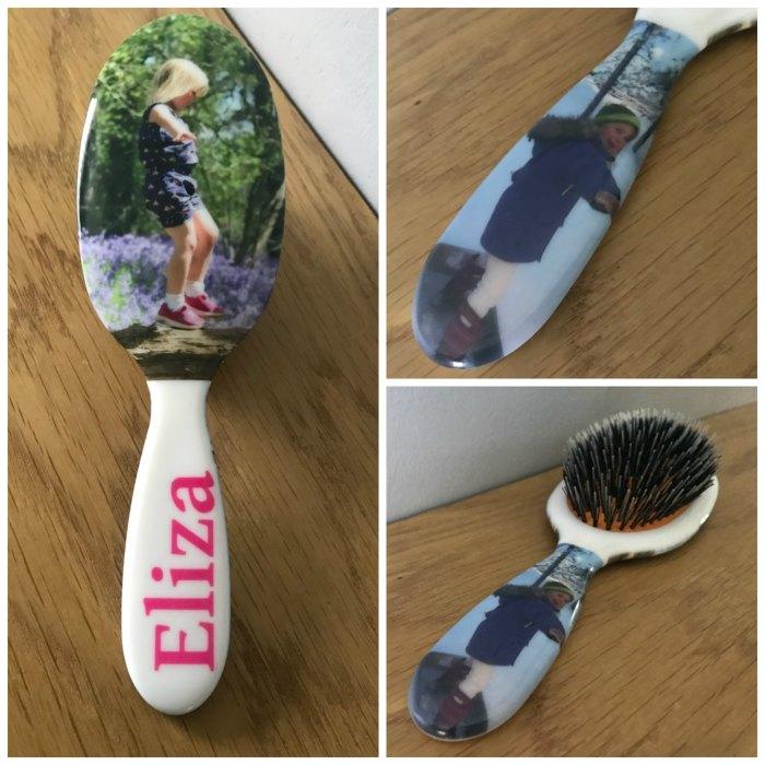 Personalised hairbrush