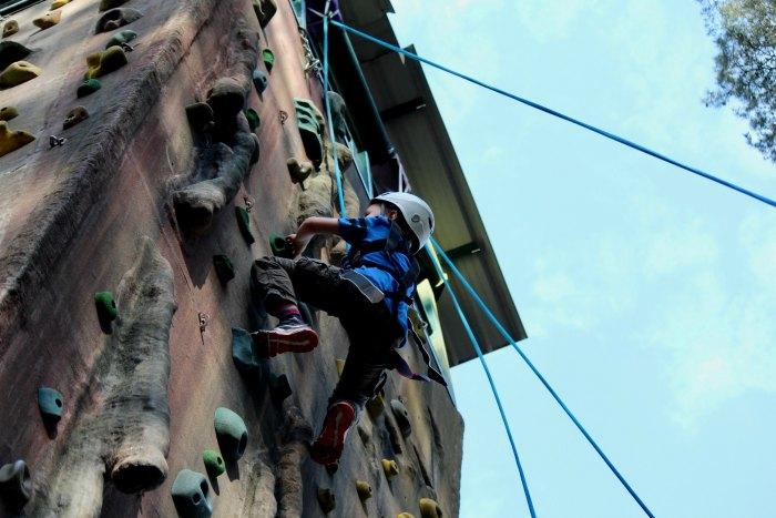 Climbing Wall Avon Tyrrell