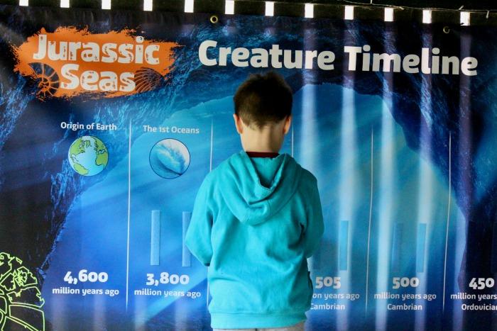 Jurassic Sea's Timeline