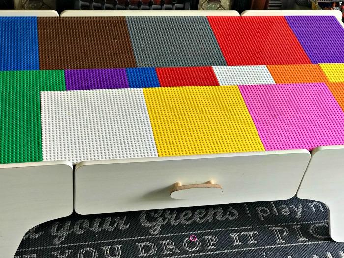 Sebby's LEGO Table