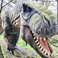 T-Rex at Blackgang Chine