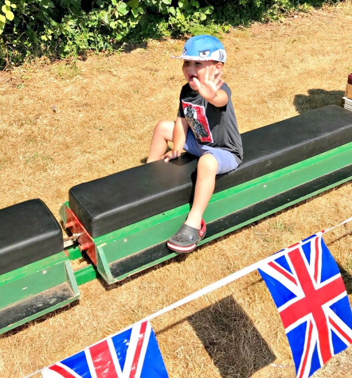 School Fayre Train