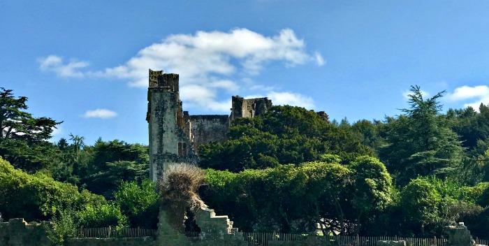 Old Wardour Castle carpark