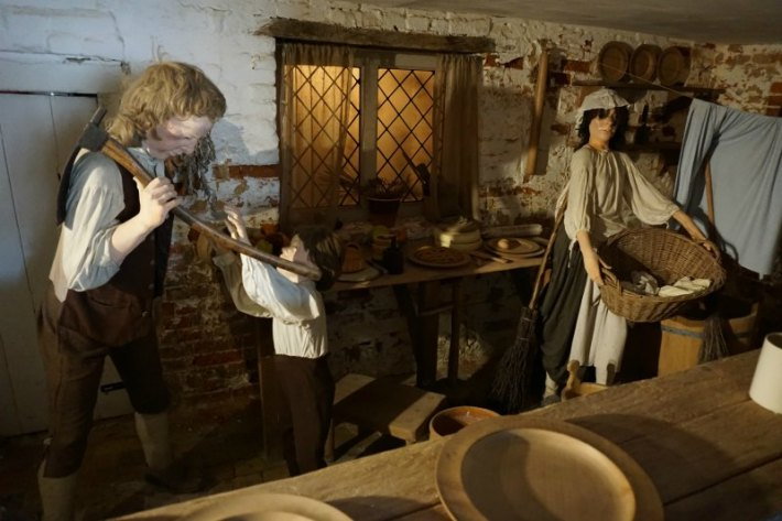 Shipwright's Cottage Kitchen