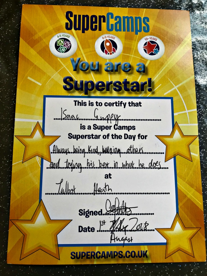 Superstar of the Day