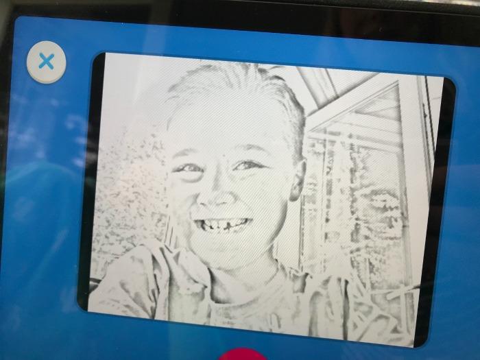 Isaac drawing