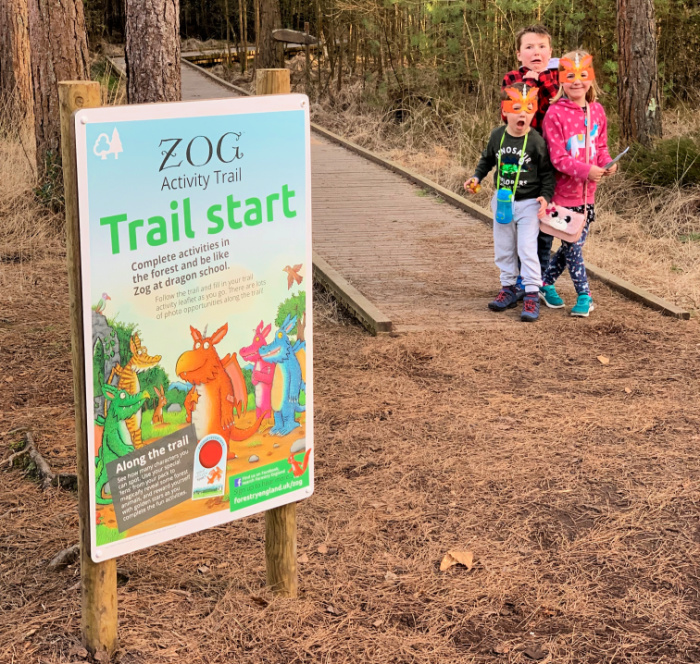 Zog Trail Moors Valley