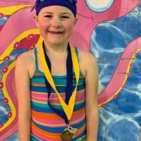 Eliza Swimming Medals