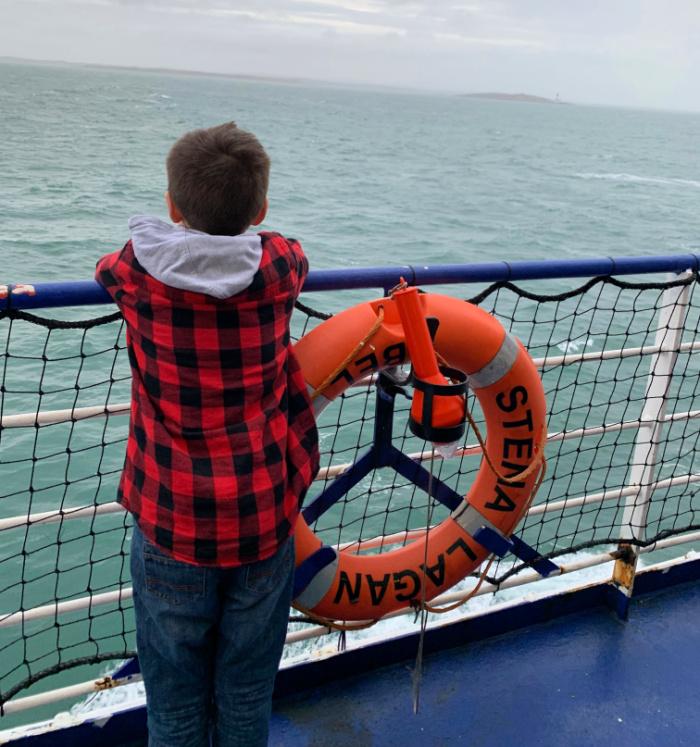 Isaac Stena Line Ferry - Ireland