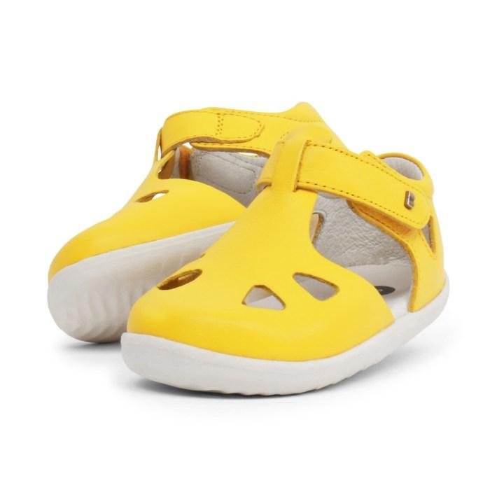 Bobux Zap in yellow - £35