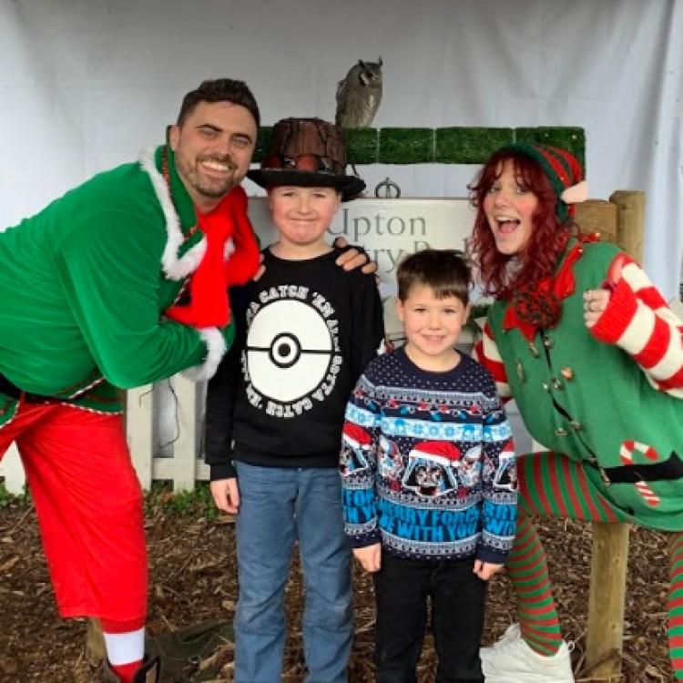 Christmas Fun at Upton Country Park