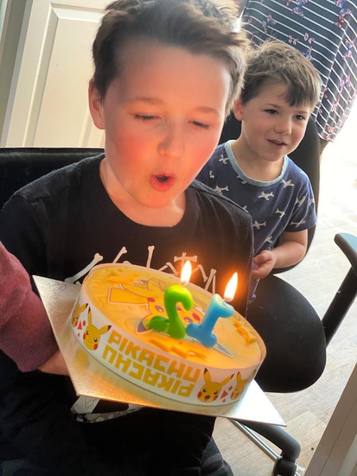 Isaac birthday cake