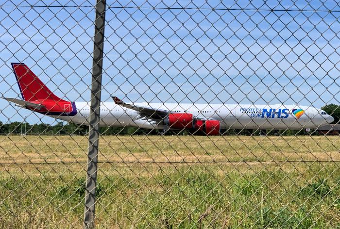 NHS Plane