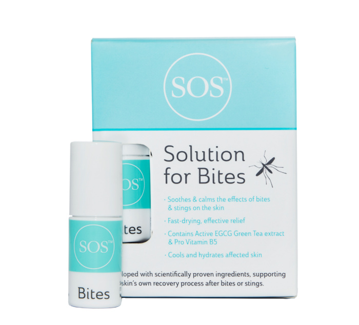 SOS. Science of Skin. Solution for Bites