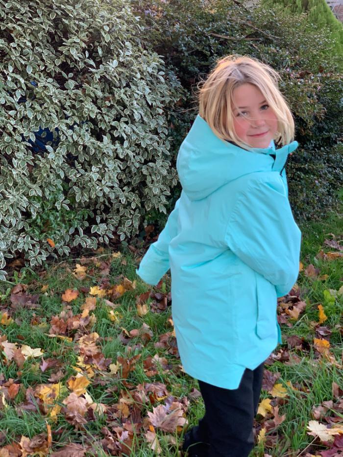 Reima Turquoise Coat