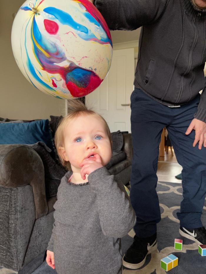 Lilah balloon
