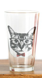 Cat-Pint-Glass