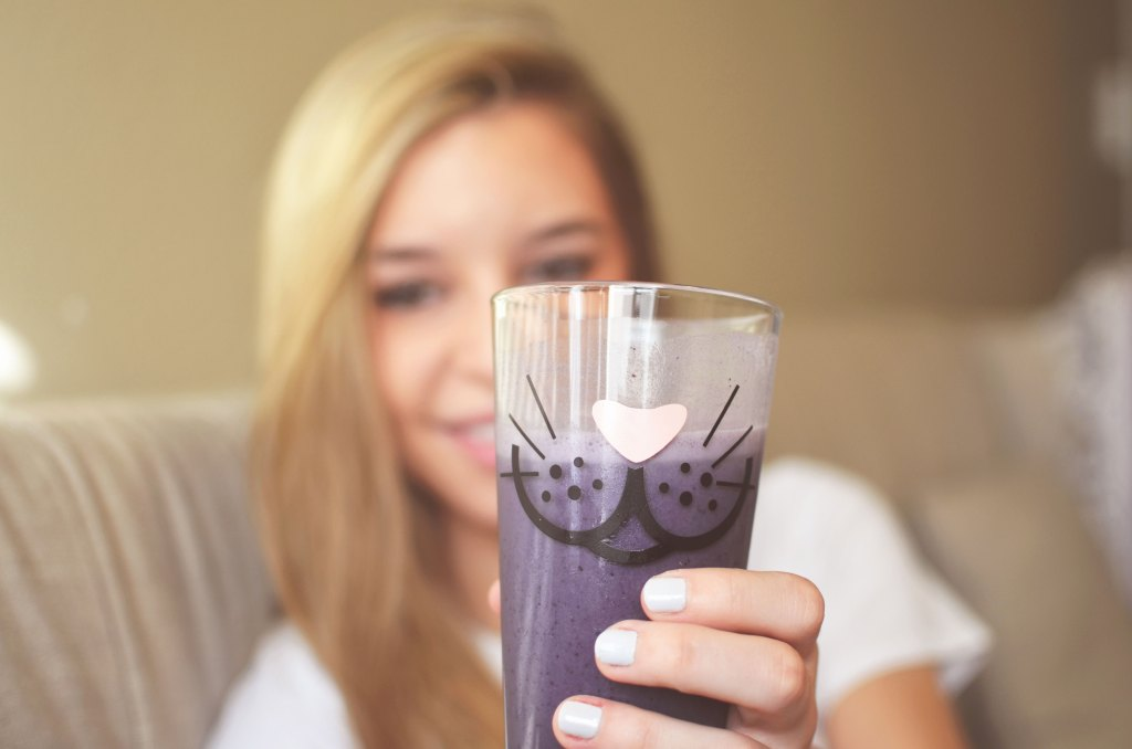 Chelsea+Morgan Purple Smoothie