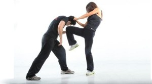 Krav Maga Knee to the Groin