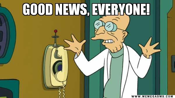 Good News! Book News!