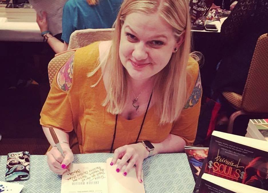 Chelsea Mueller signing at RT Convention 2017