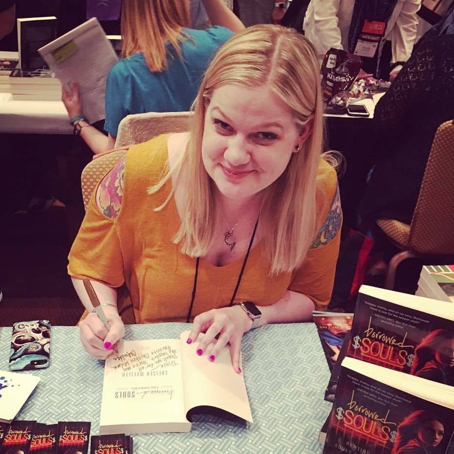 Chelsea Mueller, author of SF/F