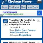 ChelseaNews.com/blog Has Been Improved For Mobile Users - Awesome!