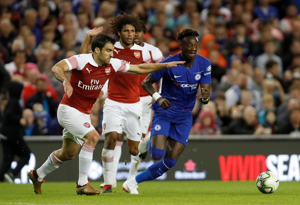 Abraham Provides Injury Update After Hobbling Off In Chelsea's Clash Against Arsenal