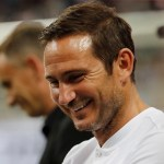 Lampard smiling
