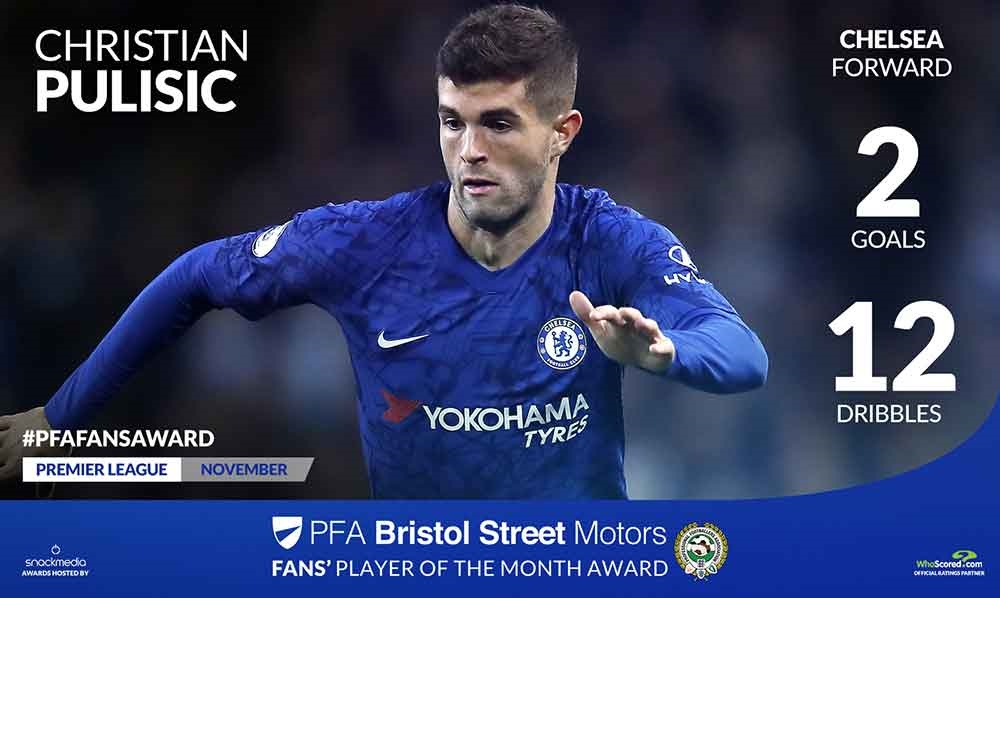 Chelsea Star Gets PFA Award Nomination After Outstanding November