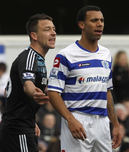 Anton Ferdinand and John Terry meet face to face for the first time since their controversial clash in October.