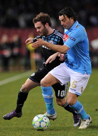 Mata vs Napoli