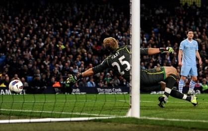 Hart vs Manchester City