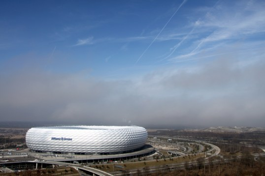 From the air - Allianz Arena
