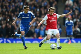 Rosicky vs Arsenal