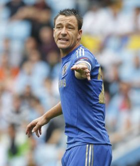 John+Terry+gestures+during+the+FA+Community+Shield+football+match+between+Chelsea+and+Manchester+City+at+Villa+Park