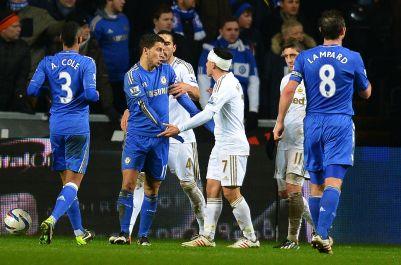 Swansea 0 Chelsea 0 (20)