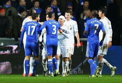 Swansea 0 Chelsea 0 (30)