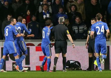 Swansea 0 Chelsea 0 (8)