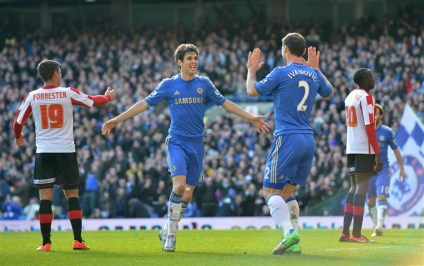 Chelsea 4 Brentford 0 (9)