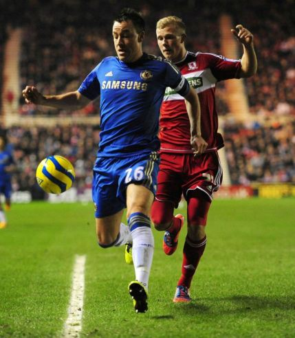 Middlesbrough 0 Chelsea 2 (5)