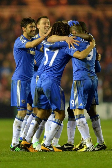 Middlesbrough 0 Chelsea 2 (7)