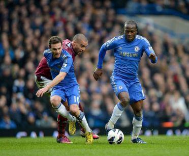 Chelsea 2 West Ham 0 (33)